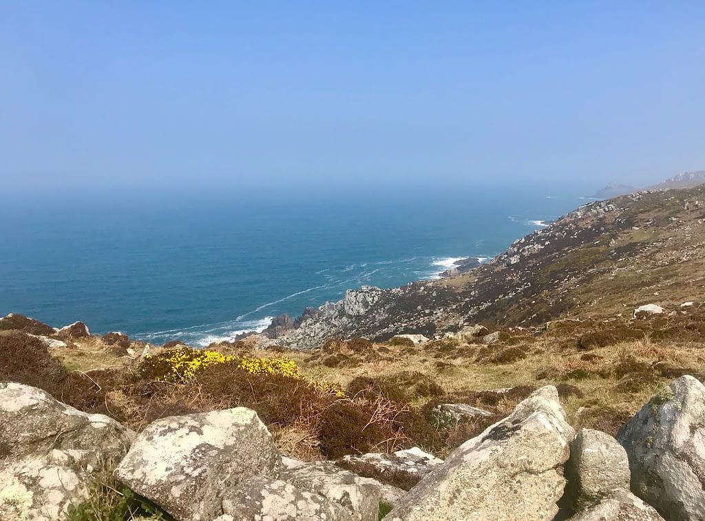 Cornish coastal path near Zennor