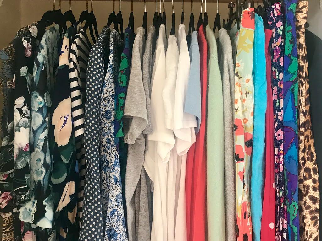 Edited summer casual wardrobe