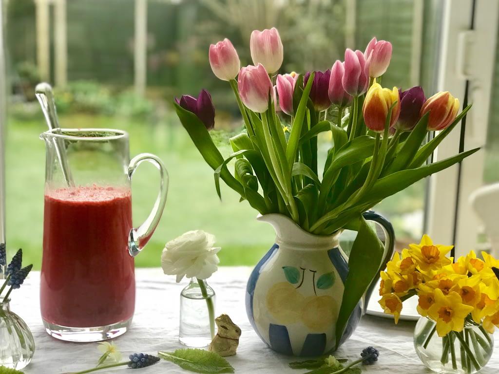 Diana Henry's fresh raspberry lemonade